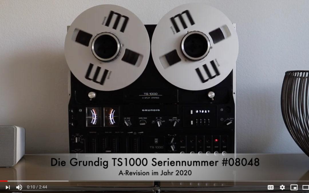 GRUNDIG TS1000 #08048 A-revision