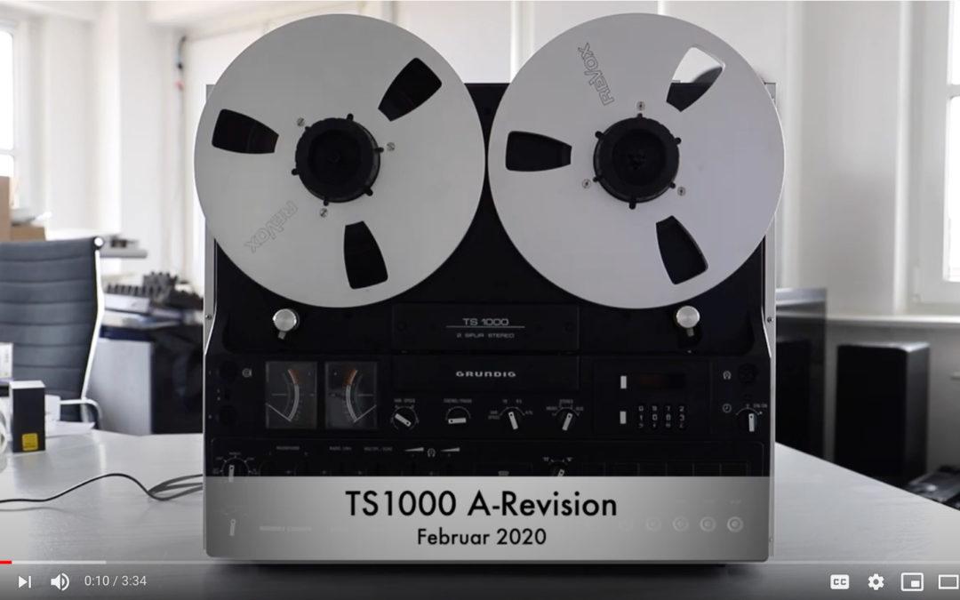 GRUNDIG TS1000 #13373 A-revision