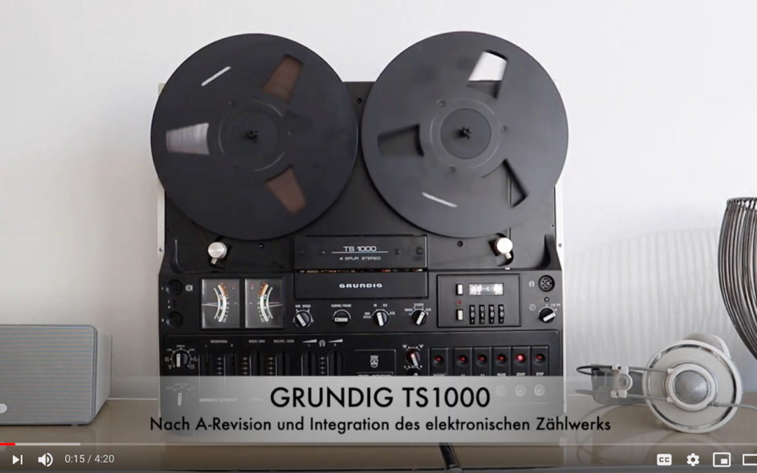 GRUNDIG TS1000 Reel-2-Reel Recorder in the year 2020